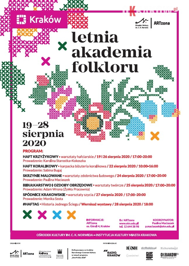 st 214x300 - ARTzona Ośrodka Kultury im. C. K. Norwida zaprasza do Letniej Akademii Folkloru.