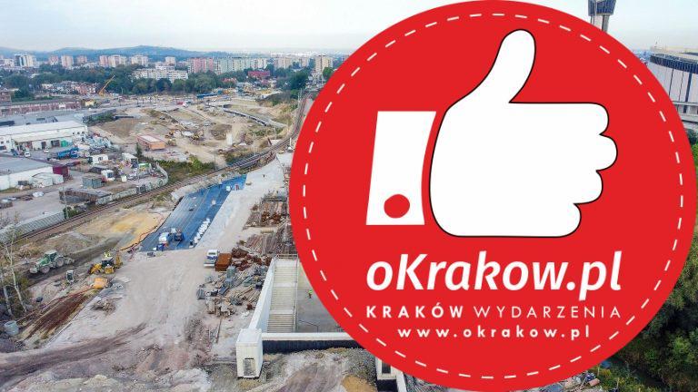 1 4 768x432 - Budowa Trasy Łagiewnickiej z lotu ptaka