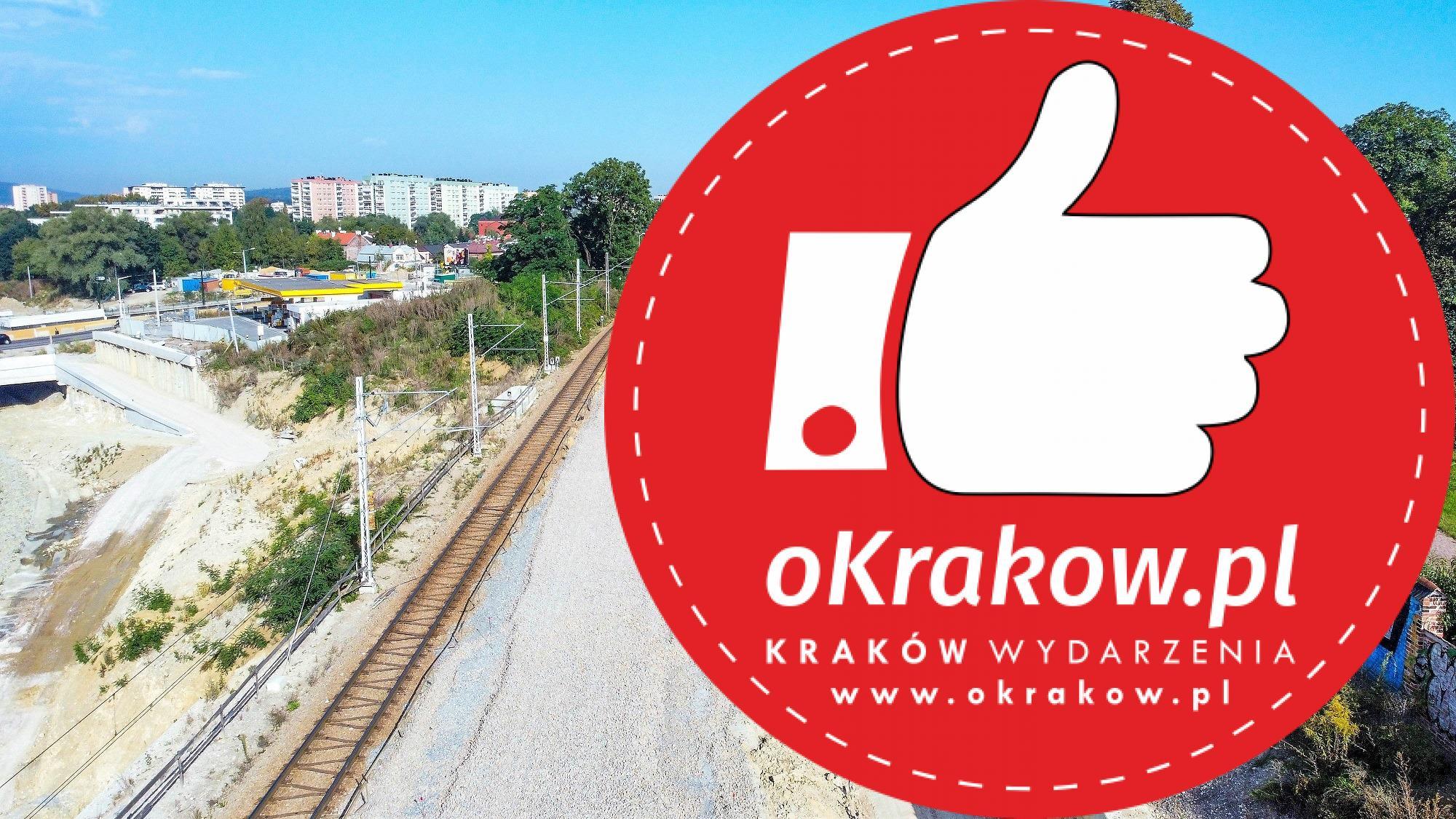 4 - Budowa Trasy Łagiewnickiej z lotu ptaka
