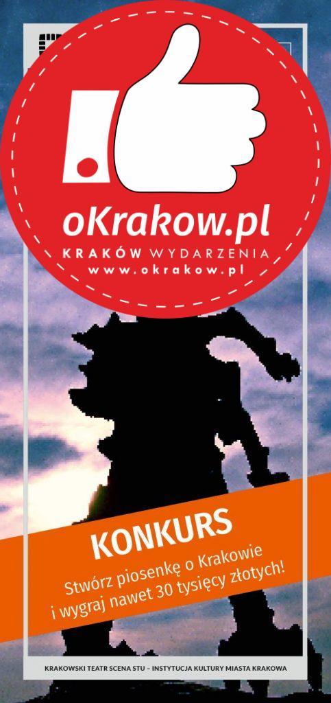konkurs na piosenke o krakowie 483x1024 - KONKURS! Stwórz piosenkę o Krakowie i wygraj nawet 30 tysięcy złotych!