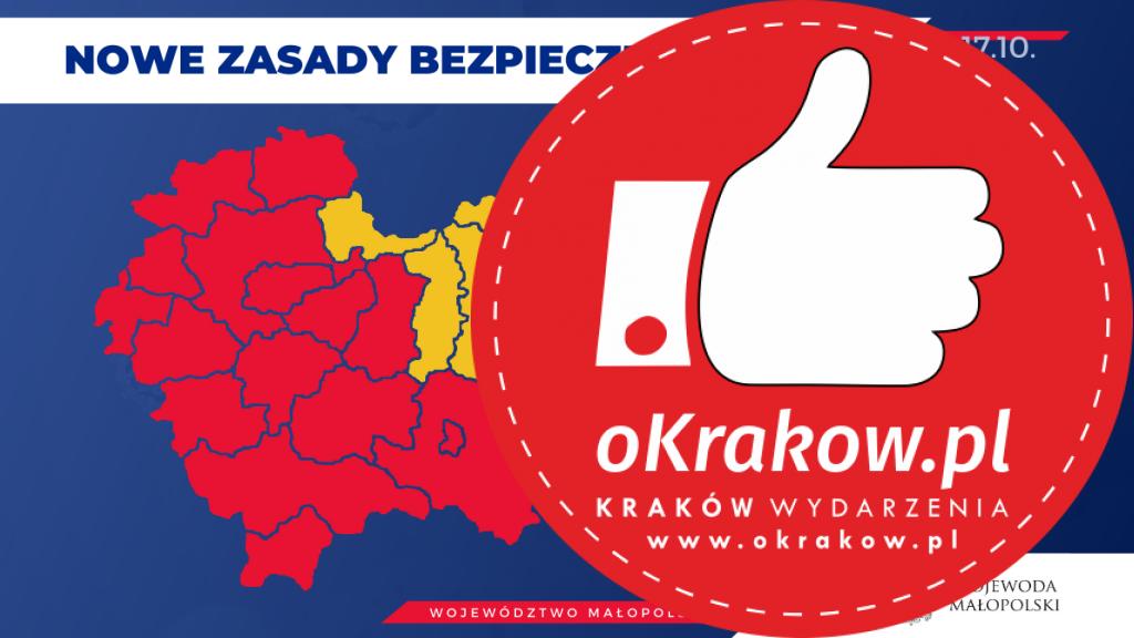 strefa czerwona 1024x576 - Od soboty (17 października) Kraków w strefie czerwonej - informacje