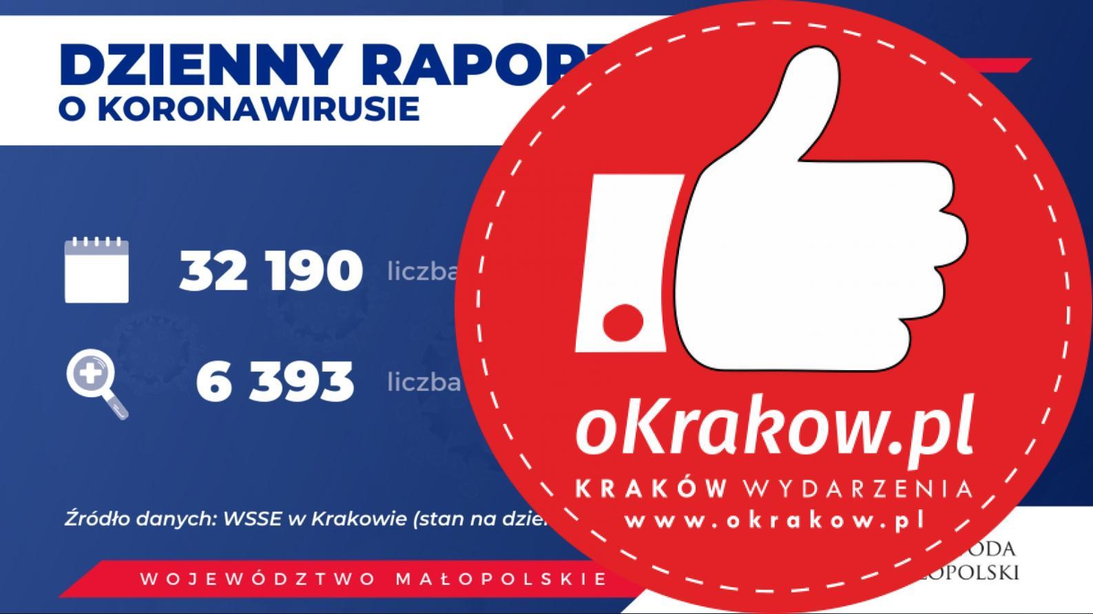 1 - Koronawirus w Małopolsce. Aktualne dane.