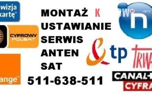 Montaz ustawienie ustawianie anten satelitarnych TANIO Solidnie Krakow i okolice. 3 310x190 - Lokalne Ogłoszenia Drobne Kraków - Małopolska