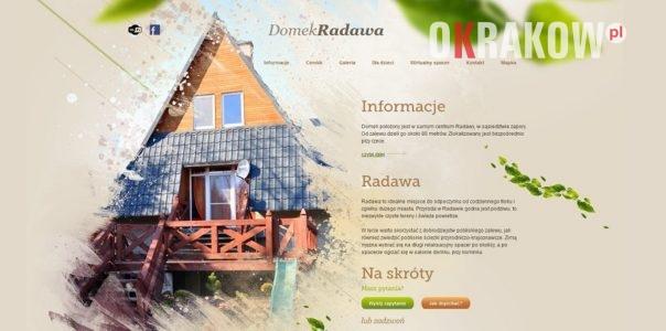 domek radawa 604x300 - Domek Radawa