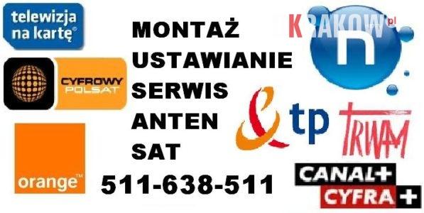 Montaz ustawienie ustawianie anten satelitarnych TANIO Solidnie Krakow i okolice. 597x300 - Instalacje, montaż, ustawianie anten Satelitarnych, dvb-t, sieci wi-fi, dostrajanie dekoderów