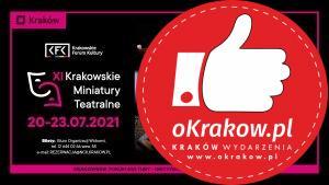 xi kmt 300x169 - Festiwal XI KRAKOWSKIE MINIATURY TEATRALNE  20 – 23 lipca 2021