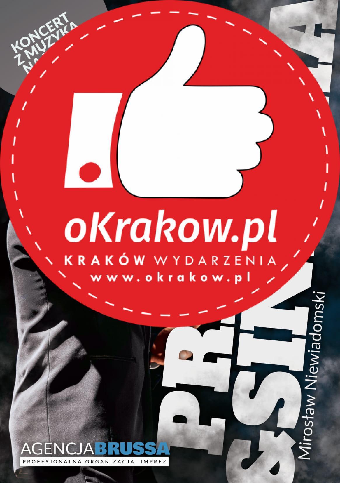 """ulotka przod - Mirosław Niewiadomski """"Presley&Sinatra"""""""