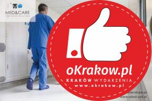 uvd robot szpital korytarz 300x200 - UVD Robot, czyli dezynfekcja i dekontaminacja najnowszej generacji   w krakowskim Szpitalu na Klinach